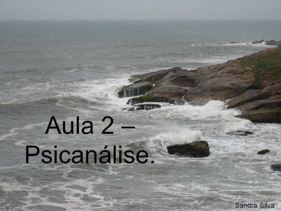 Aula 2 – Psicanálise. Sandra Silva