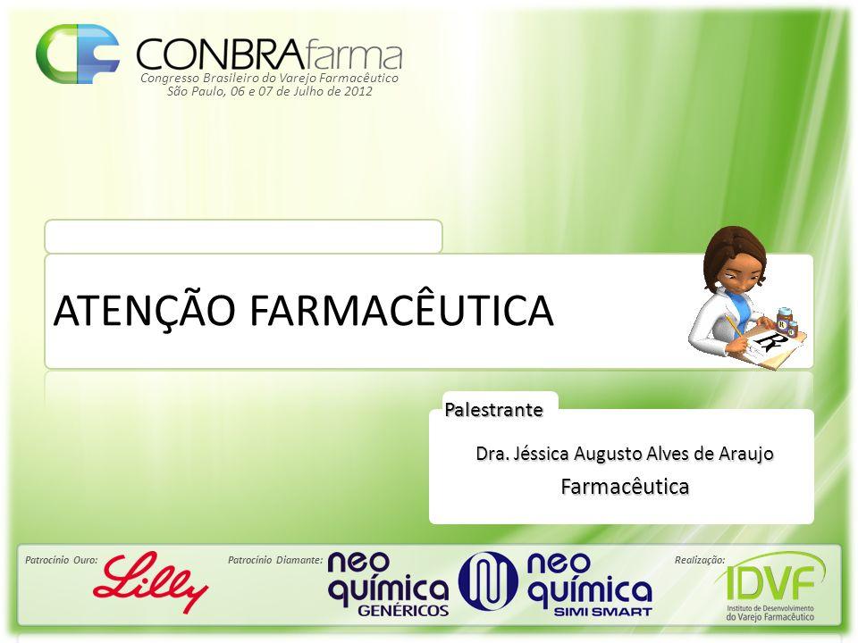 Congresso Brasileiro do Varejo Farmacêutico Patrocínio Ouro:Patrocínio Diamante:Realização: São Paulo, 06 e 07 de Julho de 2012 Palestrante ATENÇÃO FA