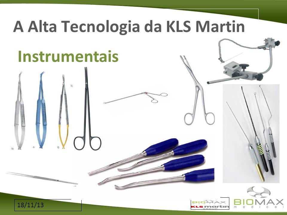 18/11/13 A Alta Tecnologia da KLS Martin Instrumentais