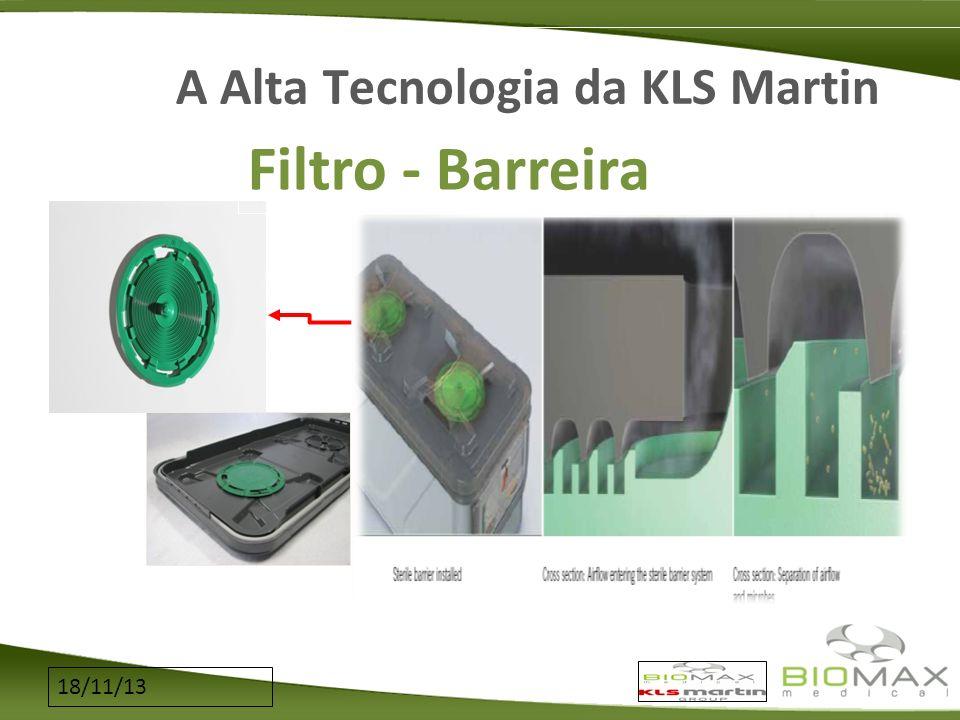 18/11/13 A Alta Tecnologia da KLS Martin Filtro - Barreira