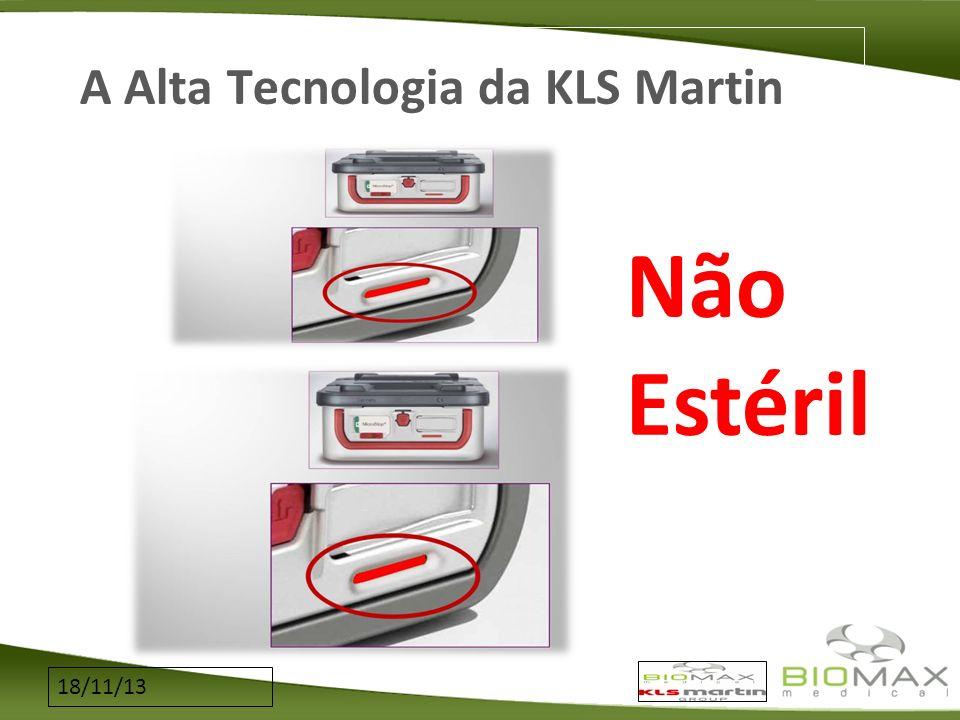 A Alta Tecnologia da KLS Martin Não Estéril