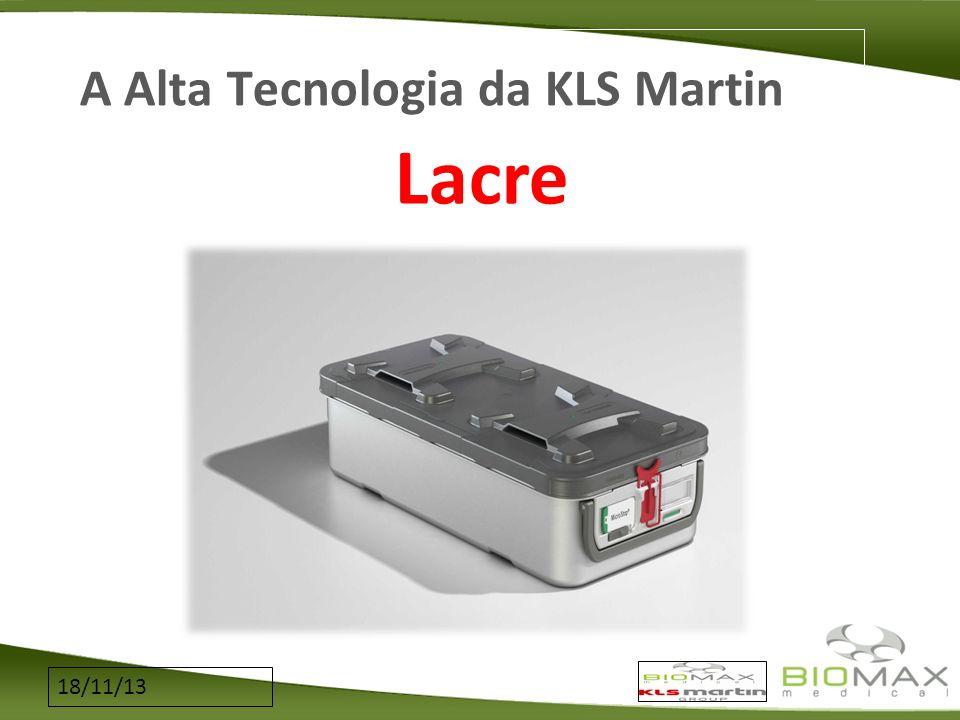 18/11/13 A Alta Tecnologia da KLS Martin Lacre