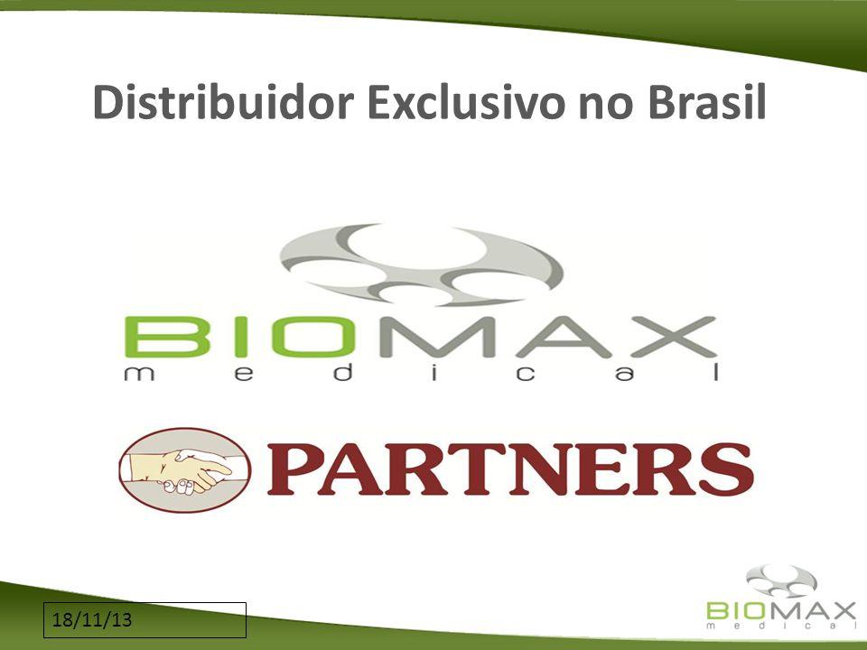 18/11/13 Distribuidor Exclusivo no Brasil