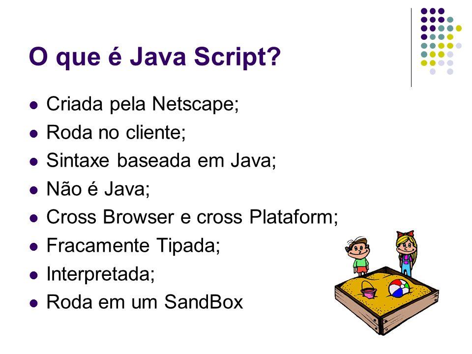 O que é Java Script.