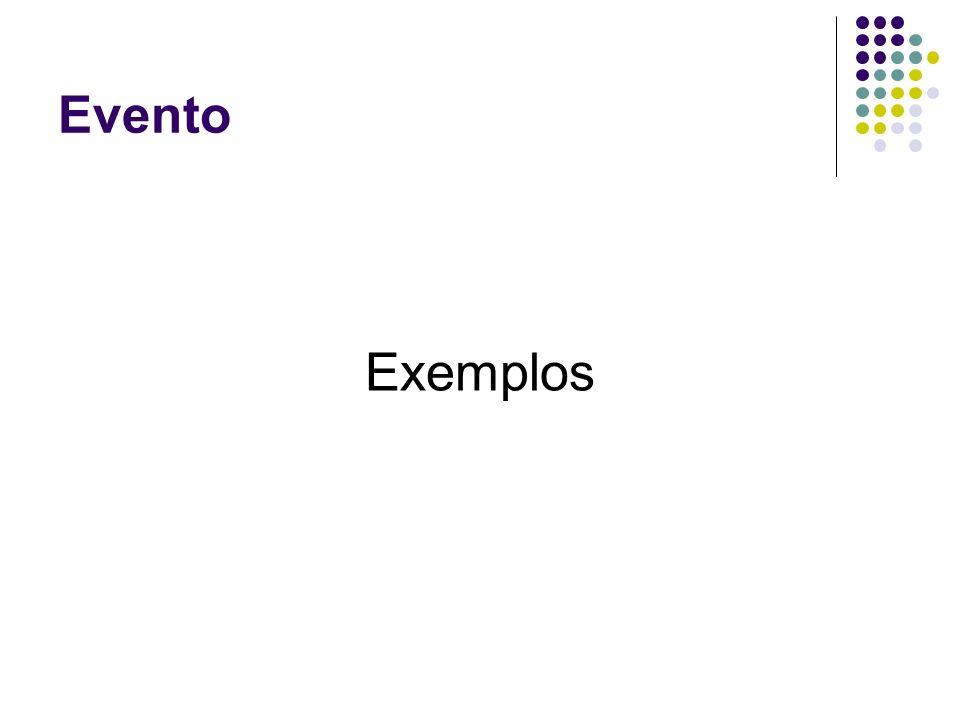 Evento Exemplos