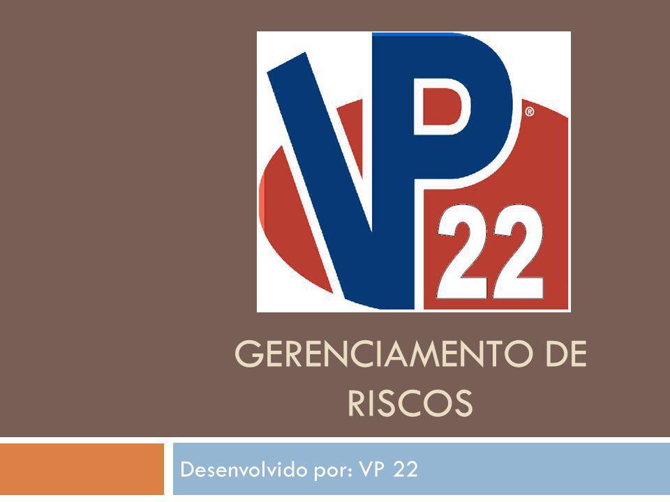 GERENCIAMENTO DE RISCOS Desenvolvido por: VP 22