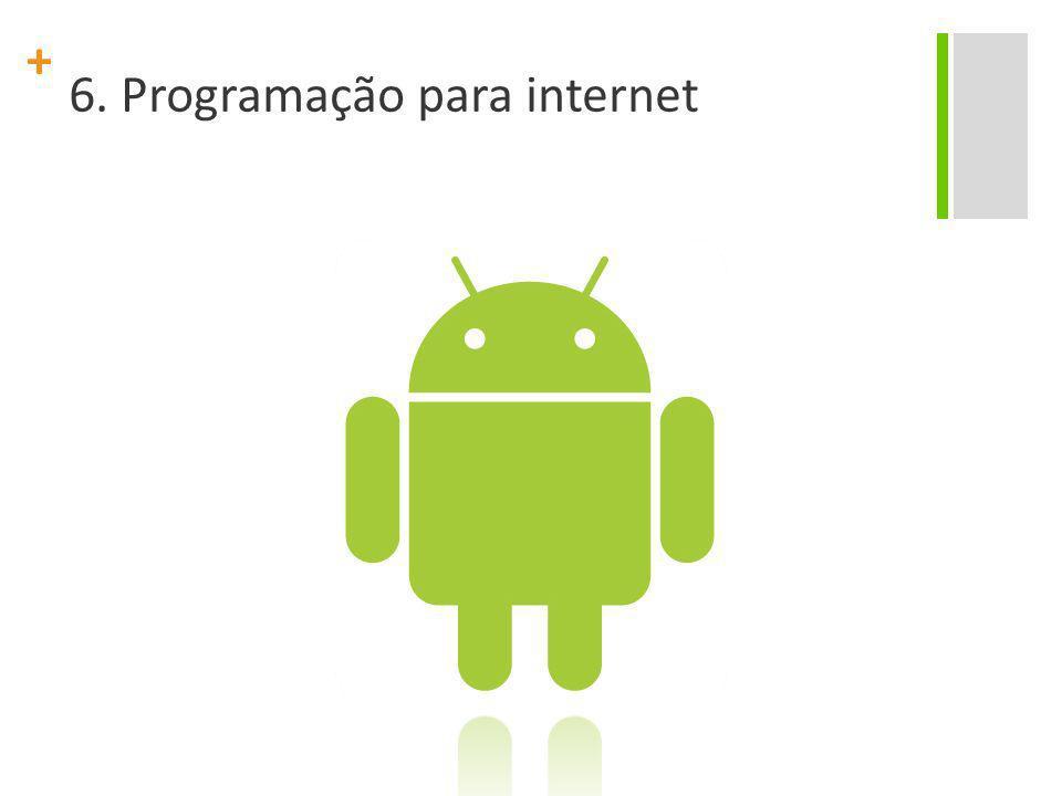 + 6. Programação para internet