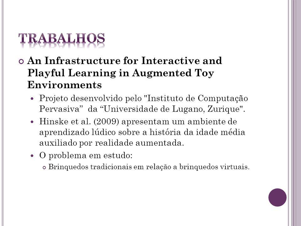 Towards Guidelines for Designing Augmented Toy Environments Projeto desenvolvido pelo