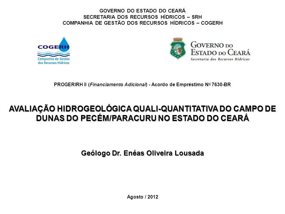 GEOFÍSICA Resultados CAMADA GEOEL.ESPES. MÉDIA (m) PROF.