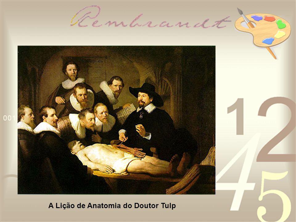 A Lição de Anatomia do Doutor Tulp