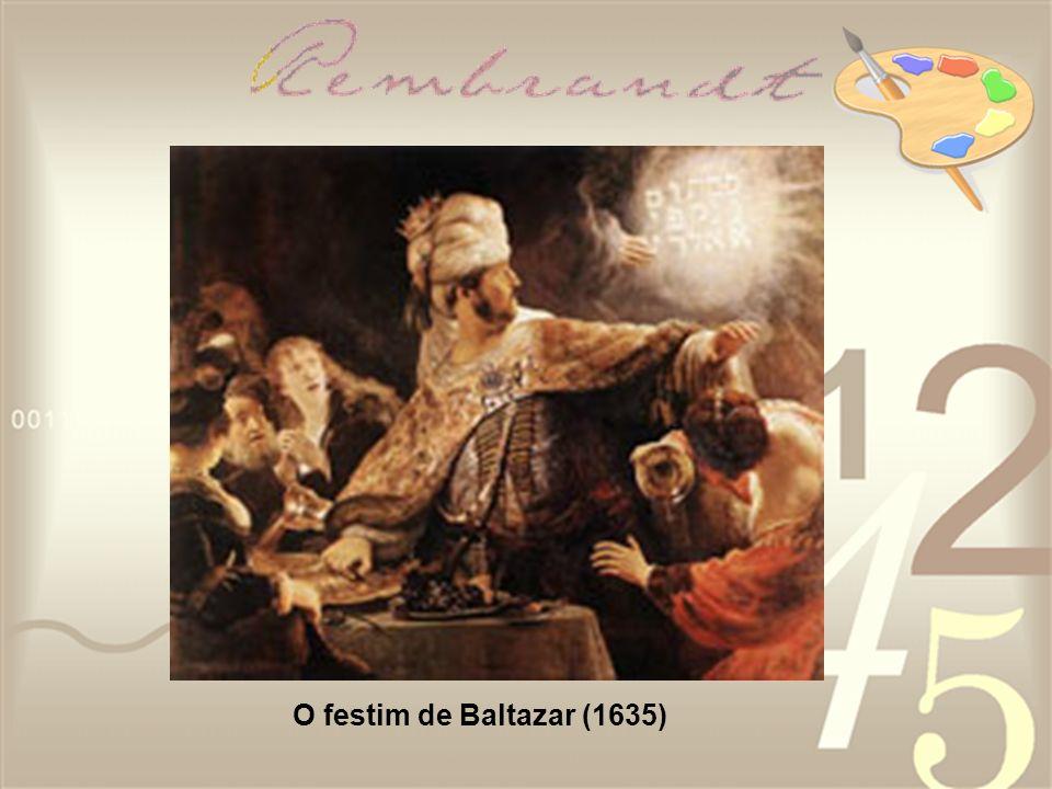 O festim de Baltazar (1635)