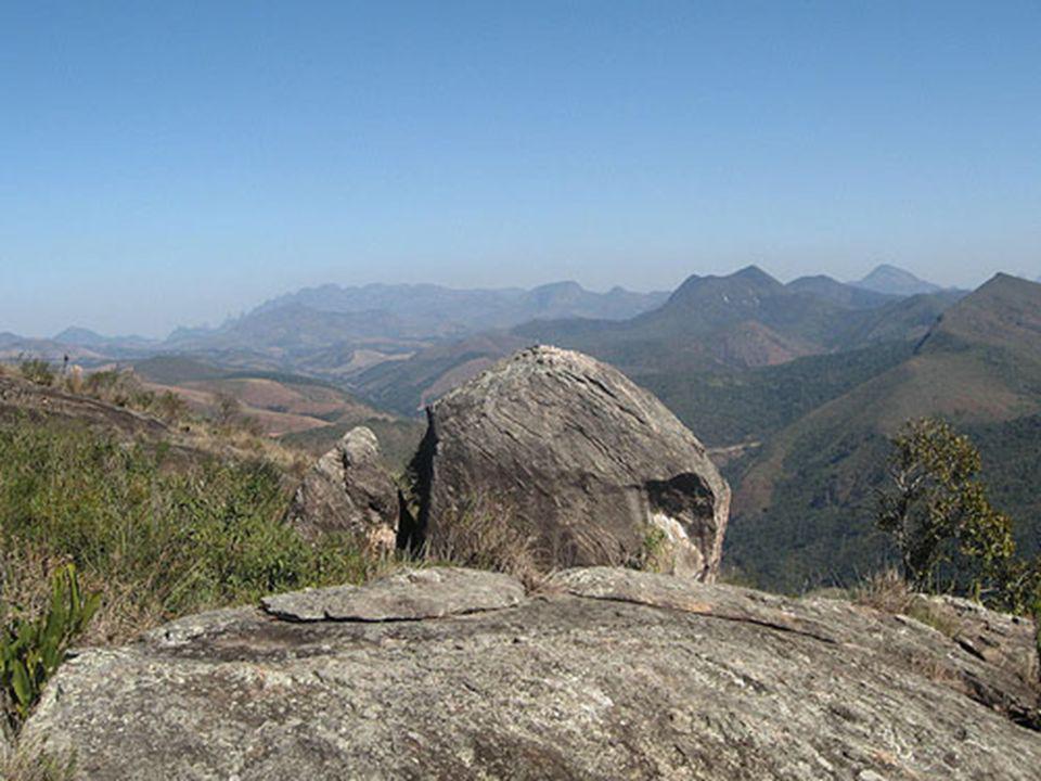 O ponto culminante é a pedra do Cupim