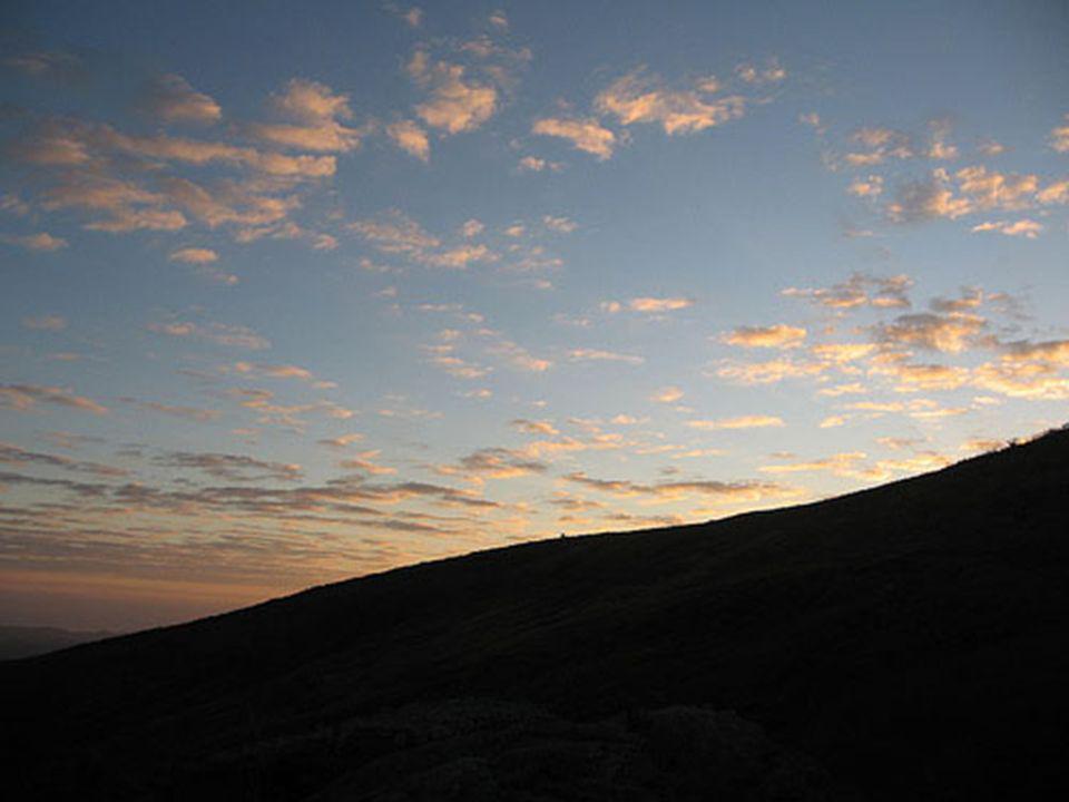 E, na manhã seguinte, a esse deslumbrante nascer do sol!
