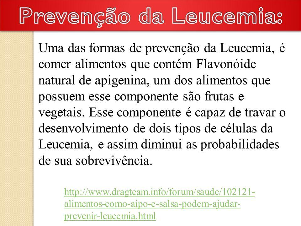 www.saudeesportiva.com.br/tratamento-leucemia.php O tratamento para leucemia aguda precisa de tratamento imediato.