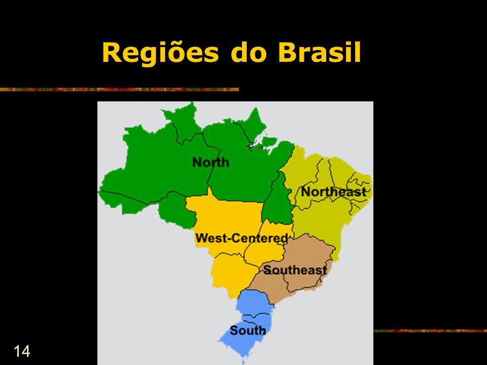 14 Regiões do Brasil