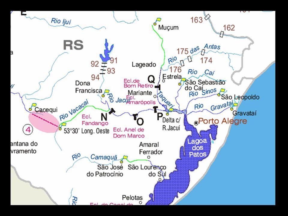 RELEVO Ao centro do Estado está a Depressão Central que é formada de rochas sedimentares dando origem a um extenso corredor que liga o oeste ao leste, através de terrenos de baixa altitude.