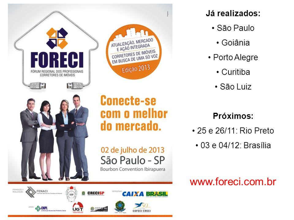 O brasileiro compra em média 1,2 casa por vida O americano compra em média 2,8 casas por vida Brasil