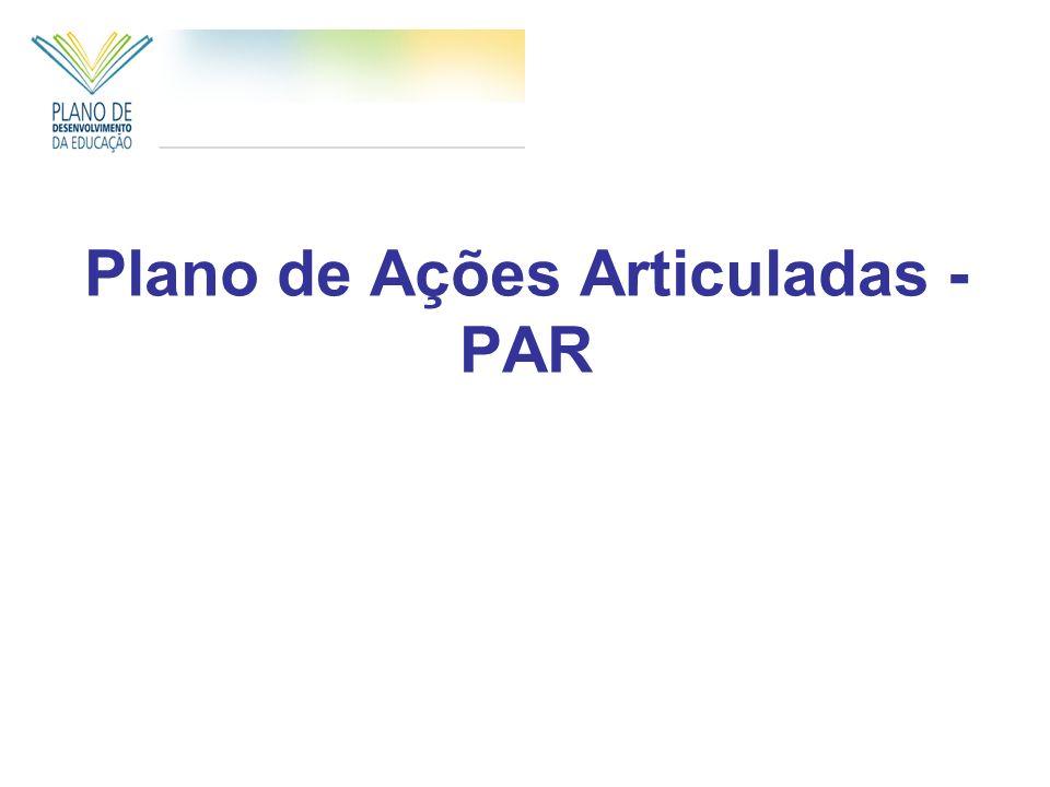Plano de Ações Articuladas - PAR