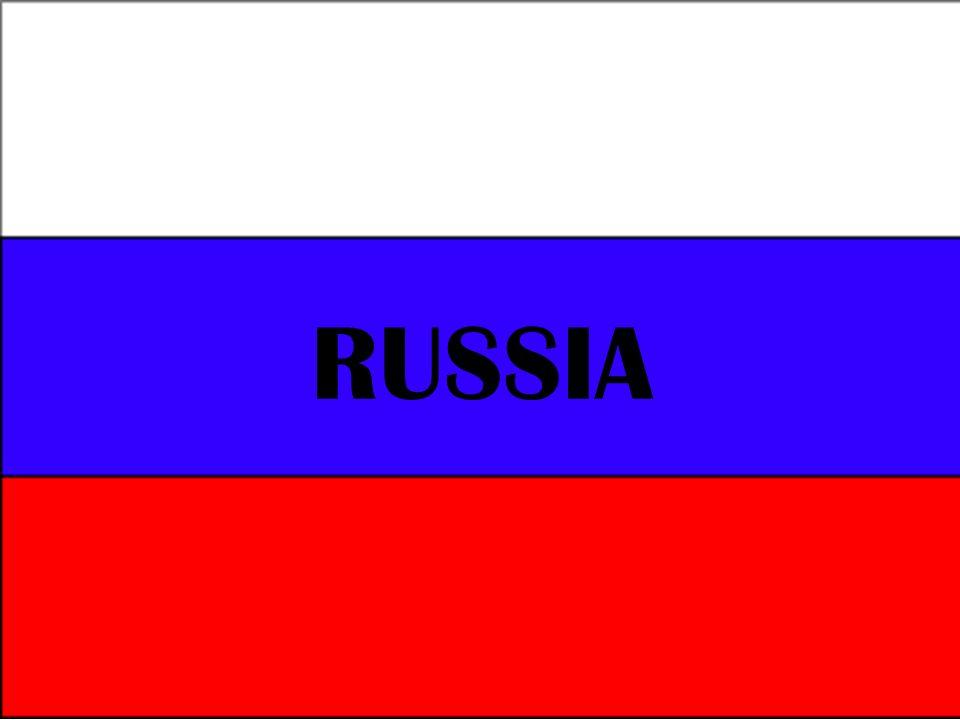 DADOS PRINCIPAIS: ÁREA: 17.075.400 km² CAPITAL: Moscou POPULAÇÃO: 142,9 milhões (Censo de 2010) MOEDA: Rublo NOME OFICIAL: Federação Russa (Rossíyskaya Federátsiya).
