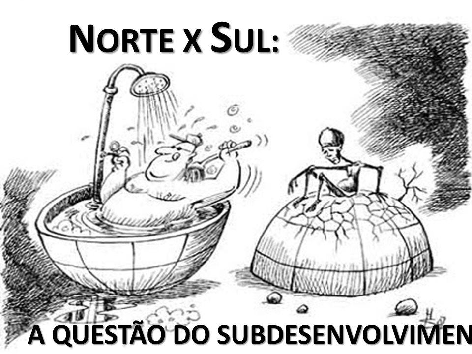 N ORTE X S UL: N ORTE X S UL: A QUESTÃO DO SUBDESENVOLVIMENTO.