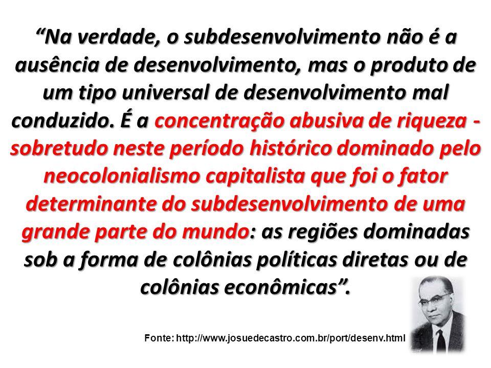 I NDICADORES SOCIOECONÔMICOS.