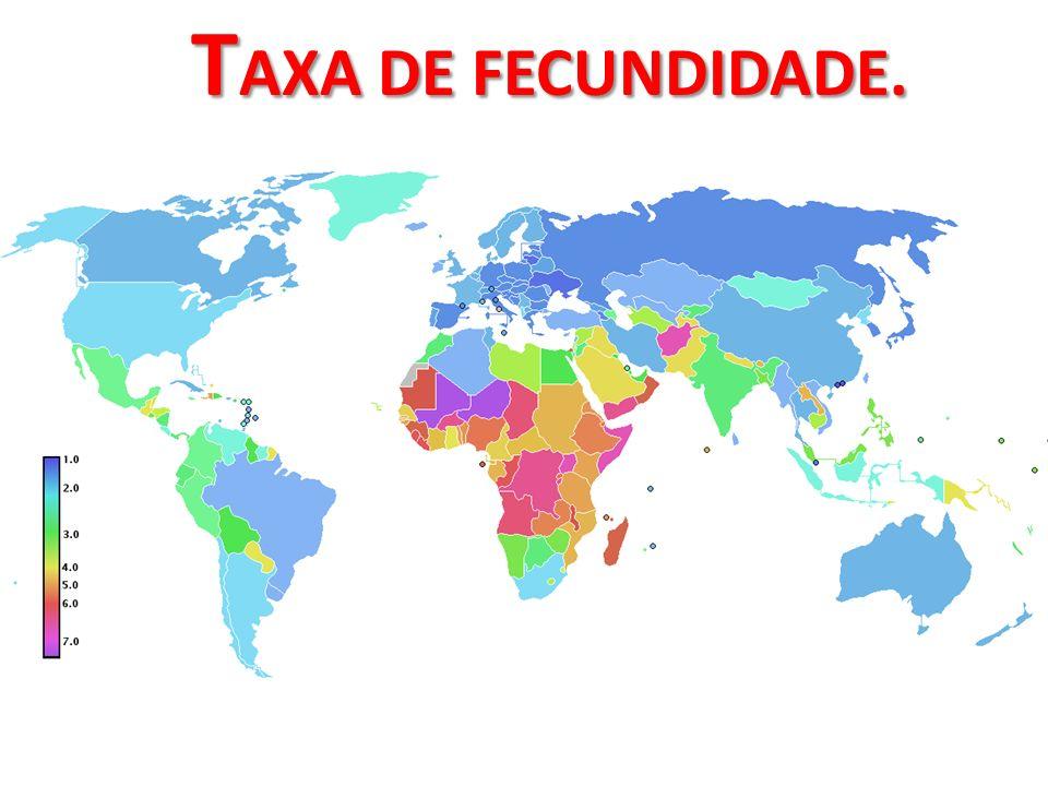 T AXA DE FECUNDIDADE.