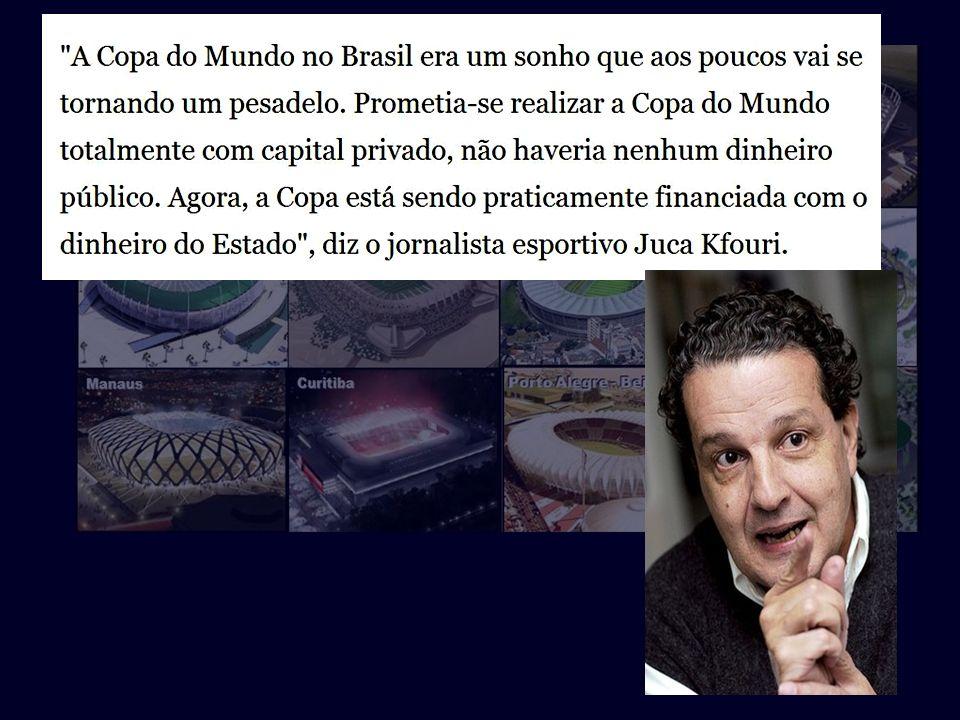 E vejamos o que diz o igualmente competente cientista social e comentarista esportivo Juca Kfouri:...