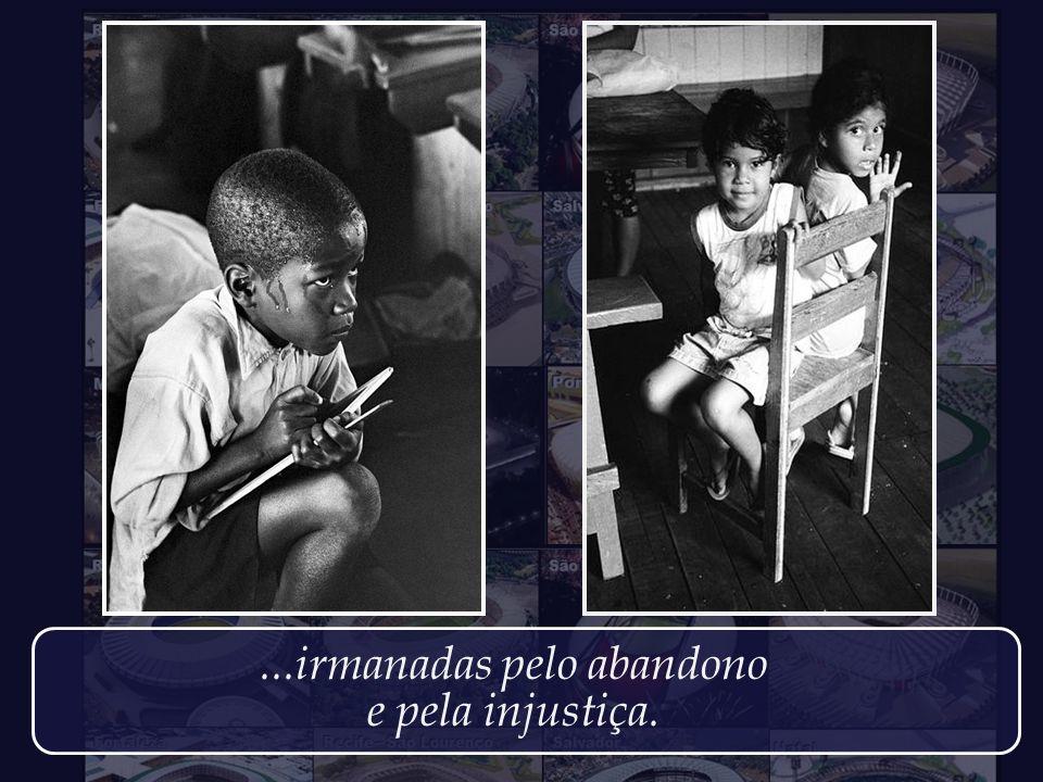 As crianças pobres de Zimbábue, e as pobres crianças brasileiras...