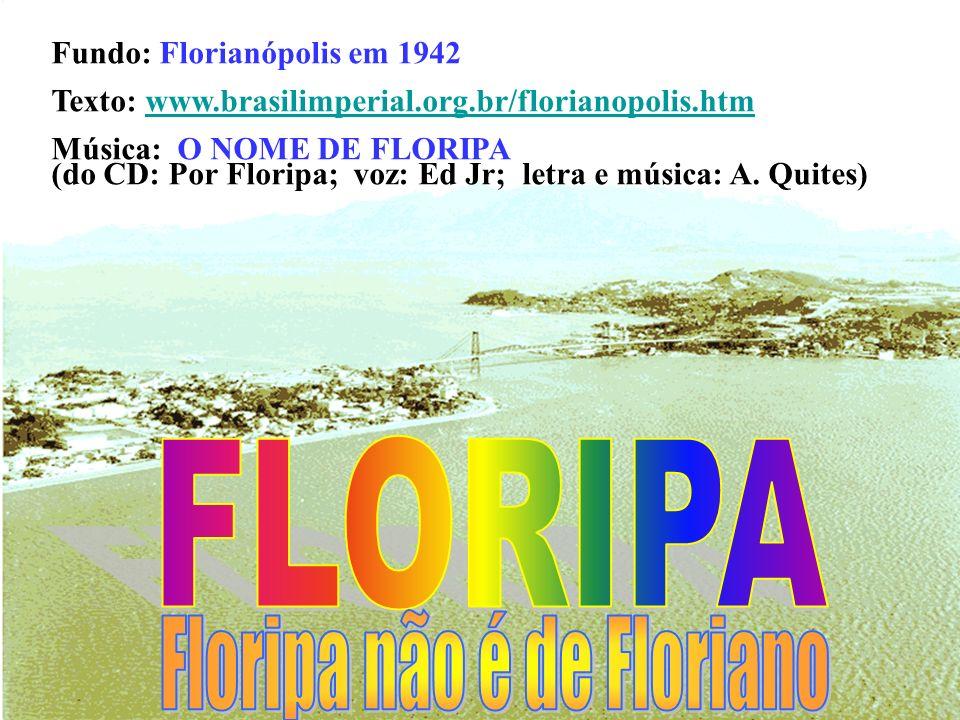 Floripa é a capital do estado de Santa Catarina e uma das três ilhas-capitais do Brasil. Chamá-la de Floripa é uma forma de evitar uma alusão ao tiran