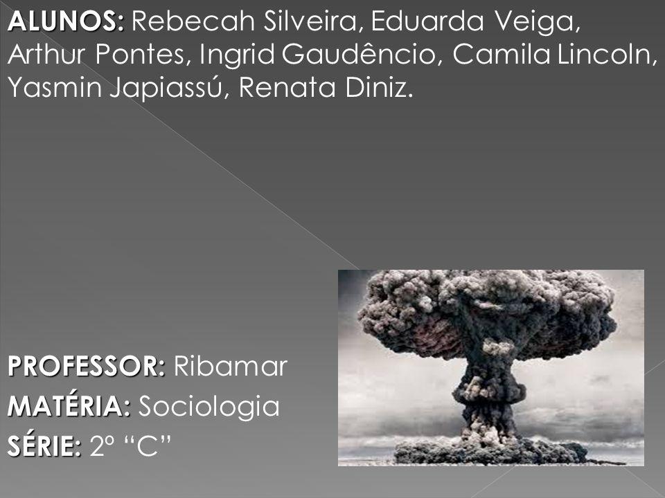 Na história há relatos de duas situações nas quais bombas atômicas foram utilizadas e causaram estragos irreversíveis.