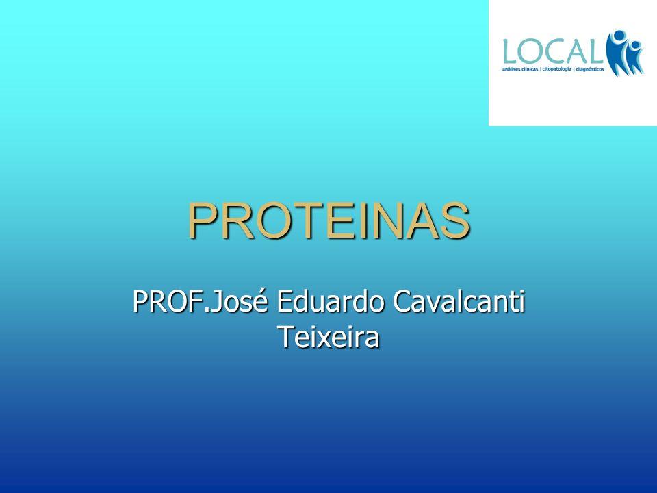 PROTEINAS PROF.José Eduardo Cavalcanti Teixeira