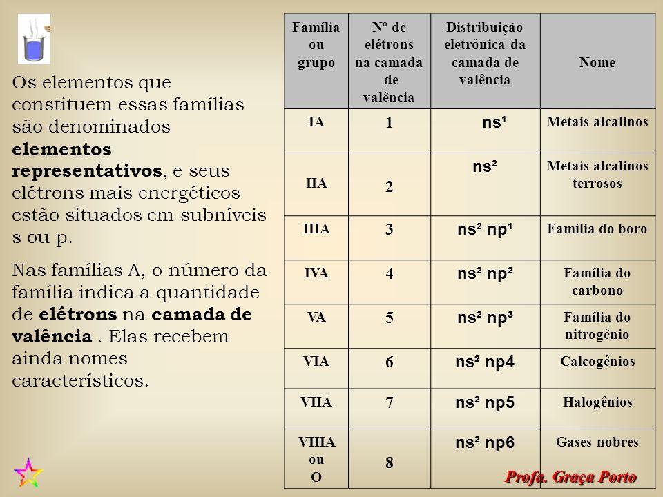 Profa.Graça Porto Existem, atualmente, duas maneiras de identificar as famílias ou grupos.