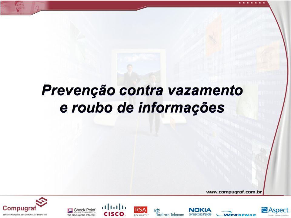 Prevenção contra vazamento e roubo de informações