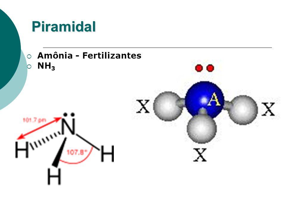 Piramidal Amônia - Fertilizantes NH 3