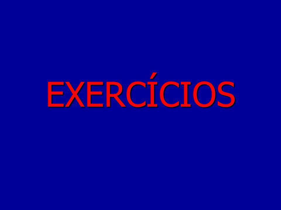 Exercício Método Alfabético ORDENAÇÃO