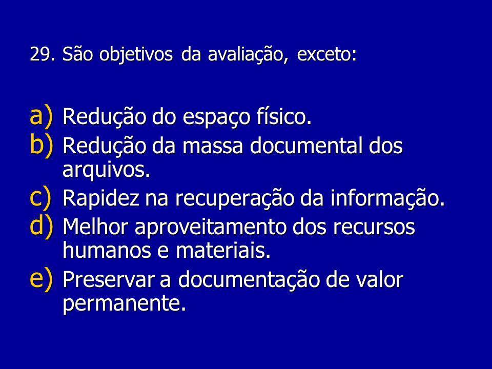 28.O termo salvaguarda está ligado a que tipo de documento.
