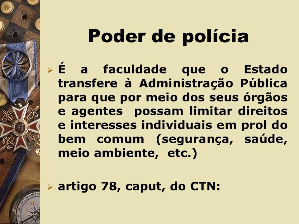 Poder Discricionário Conferido à Administração Pública para que, por meio de seus agentes, pratique atos administrativos com liberdade na escolha de s