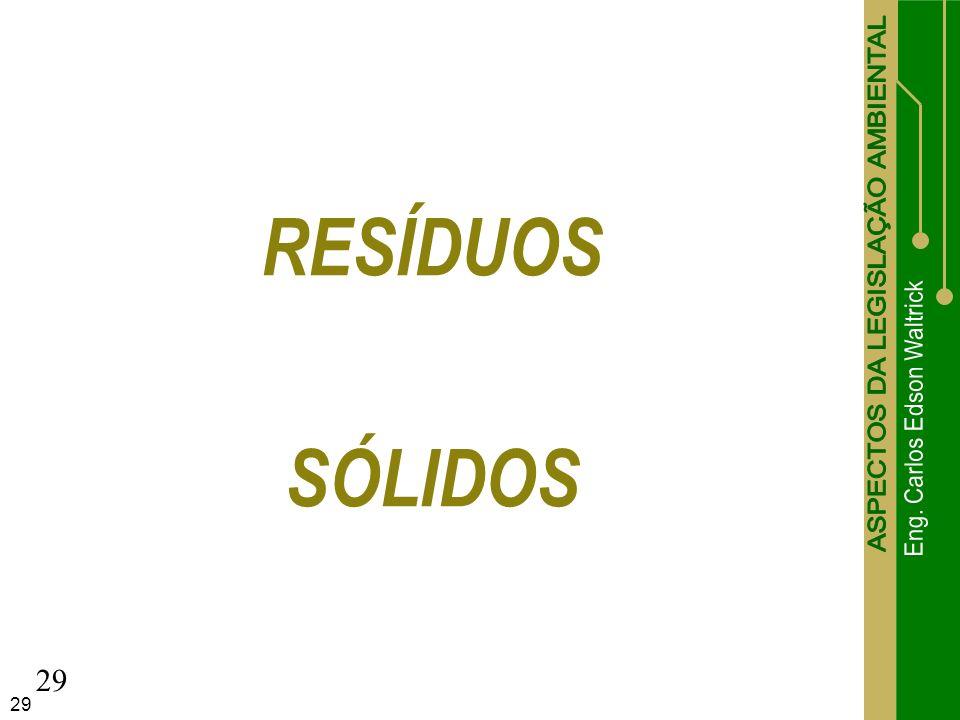 29 RESÍDUOS SÓLIDOS 29