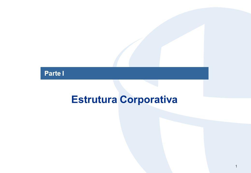 1 Parte I Estrutura Corporativa