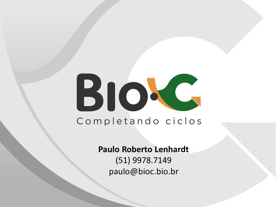 Paulo Roberto Lenhardt (51) 9978.7149 paulo@bioc.bio.br