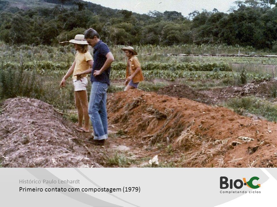 Histórico Paulo Lenhardt Primeiro contato com compostagem (1979)