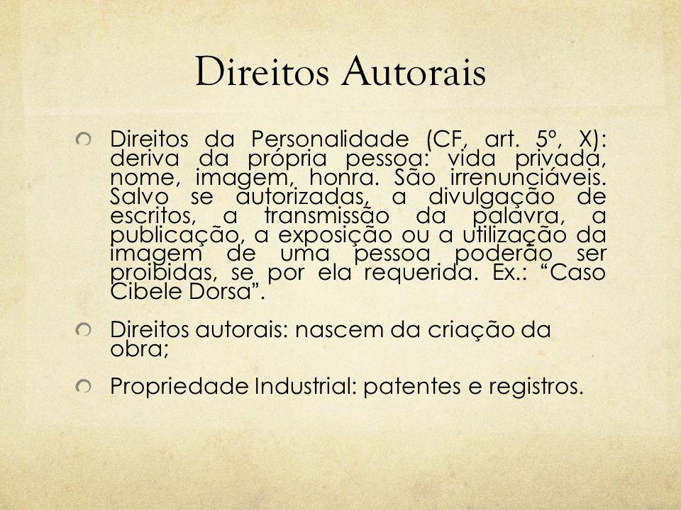 DIREITOS AUTORAIS Art.46.