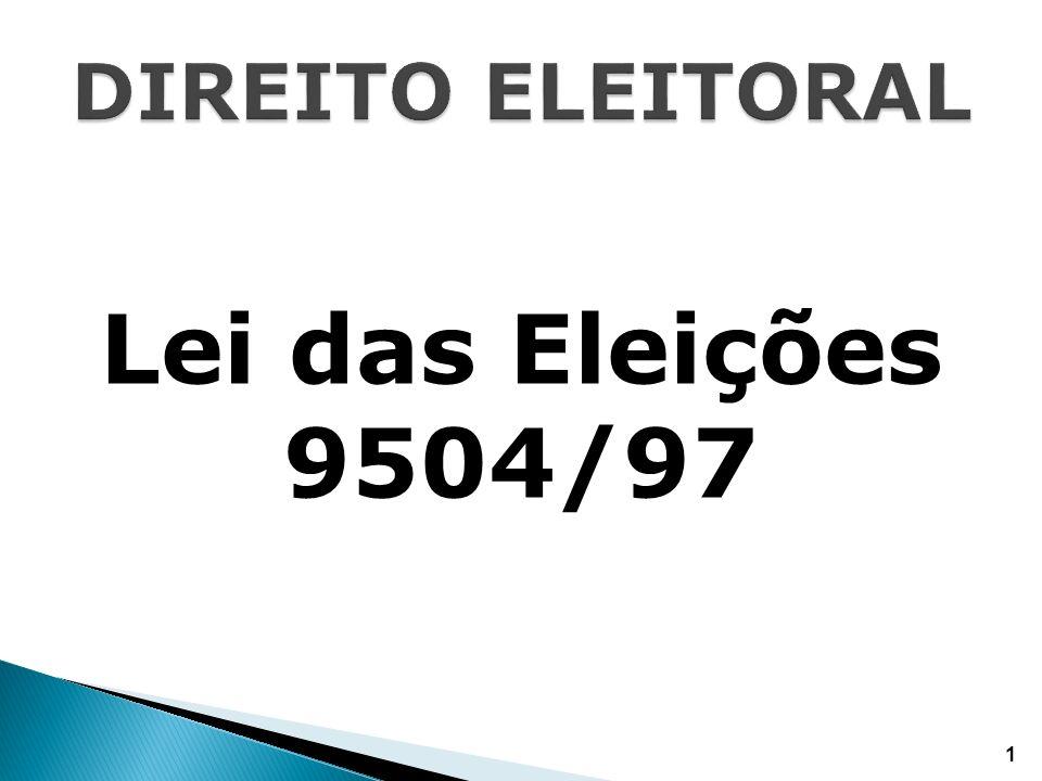 Lei das Eleições 9504/97 1