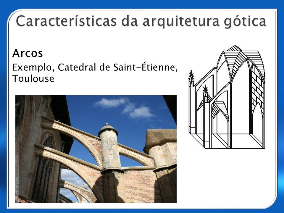 Arcos Exemplo, Catedral de Saint-Étienne, Toulouse