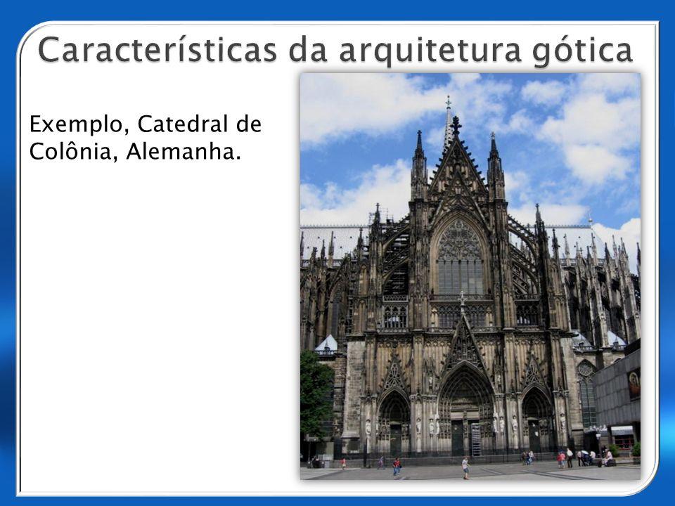 Exemplo, Catedral de Colônia, Alemanha.