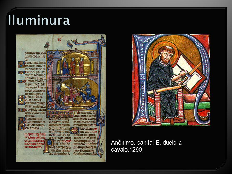 Anônimo, capital E, duelo a cavalo,1290