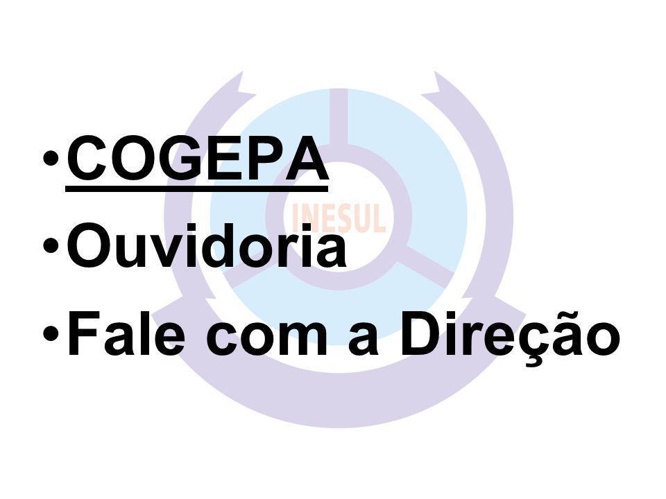 COGEPA Ouvidoria Fale com a Direção