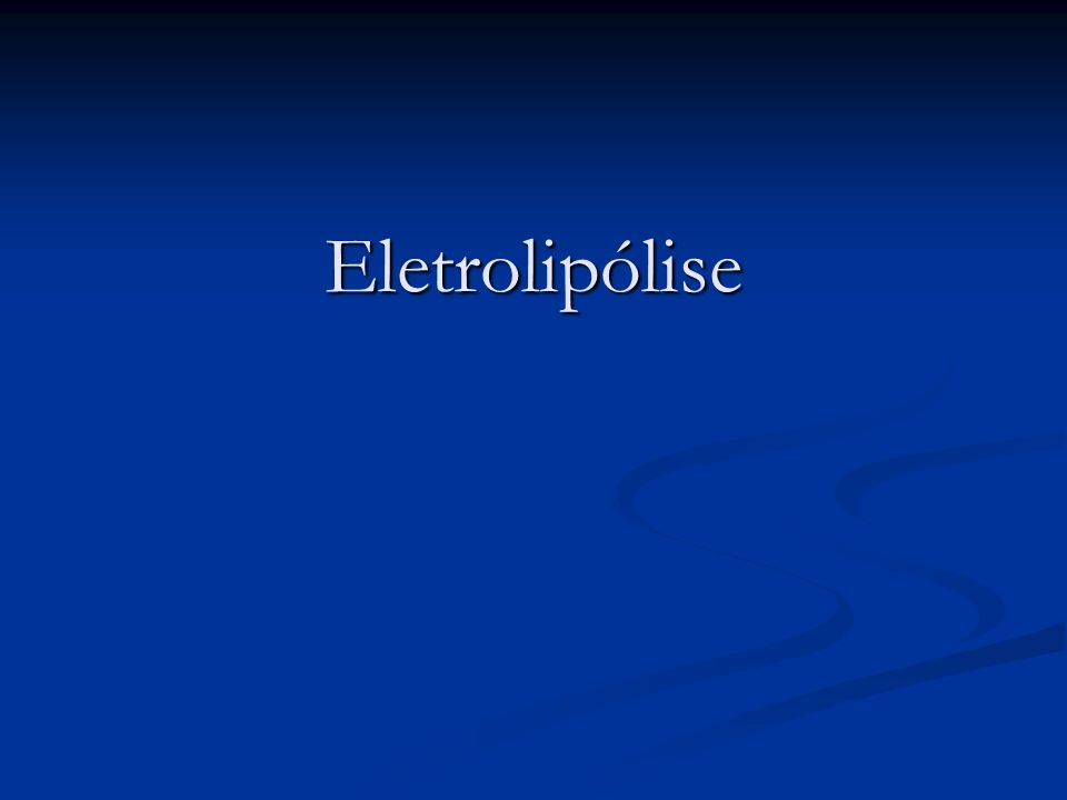 Eletrolipólise