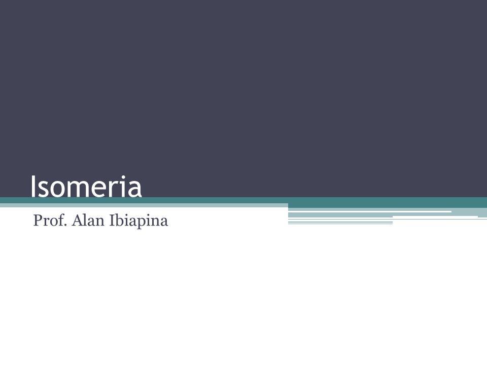 Definição Isomeria é o fenômeno pelo qual duas substâncias diferentes possuem a mesma fórmula molecular.