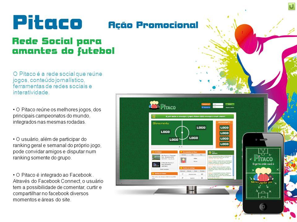 O Pitaco é a rede social que reúne jogos, conteúdo jornalístico, ferramentas de redes sociais e interatividade. O Pitaco reúne os melhores jogos, dos